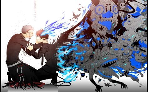 ao no exorcist anime review ao no exorcist blue exorcist the