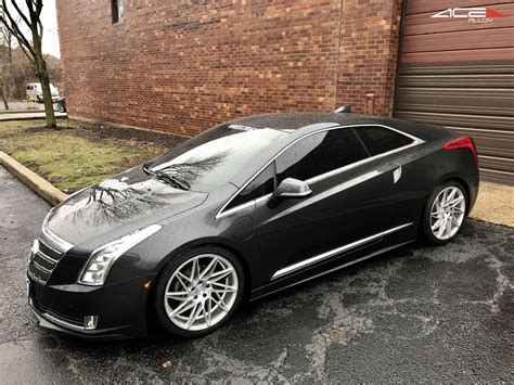 Cadillac On Rims by Cadillac Elr W 20 Ace Alloy Wheels Model Driven D716