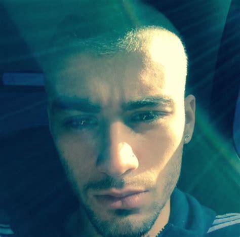 wendy malik hair cut zayn malik dyed his hair white his hot new selfie cambio