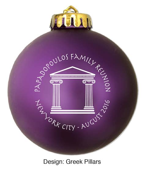 unbreakable ornaments unbreakable acrylic personalized ornaments 3 1 4 quot