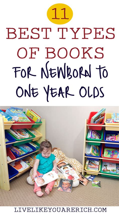 types of picture books 11 best types of books for newborn to one year olds live
