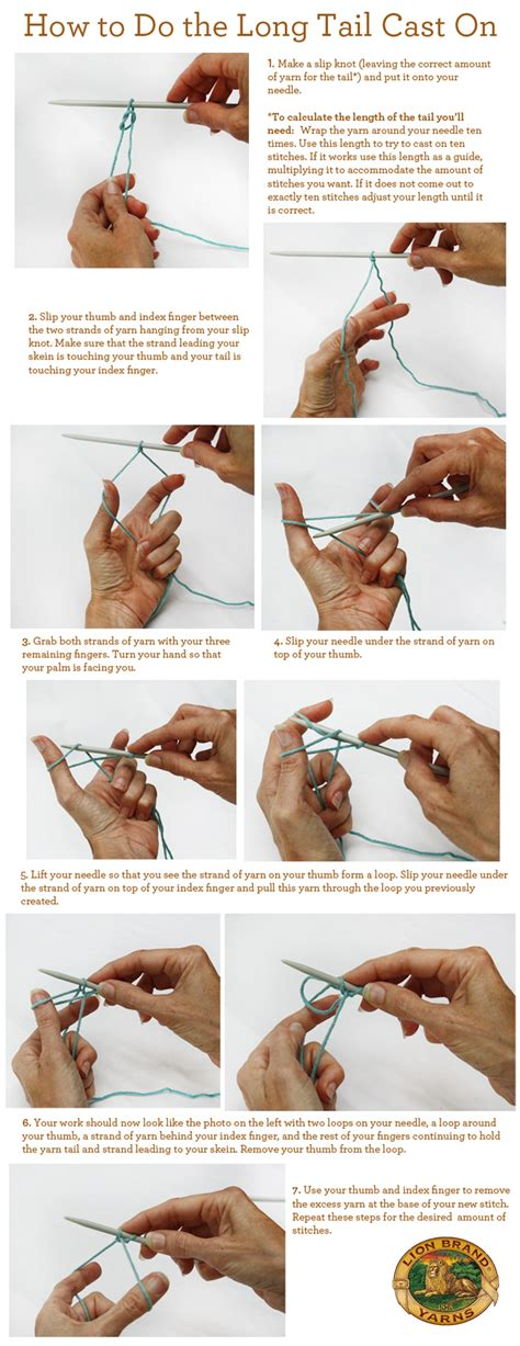 how to knit a cast on how to do the cast on crochet knit crochet