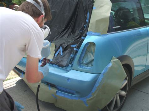 spray painting a car a practical guide to spray painting the imperfections