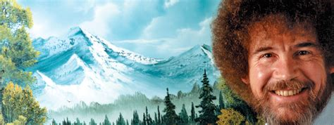 bob ross of painting season 1 the of writing about the of painting literary hub
