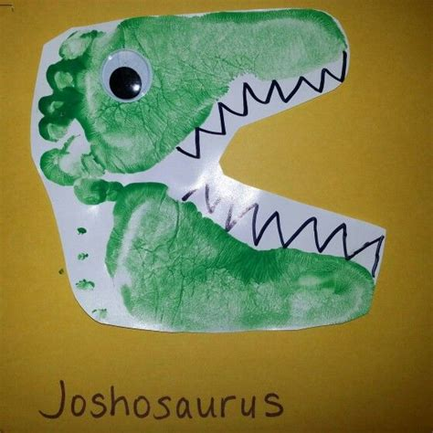 dinosaur arts and crafts for dinosaurs made from footprints toddler
