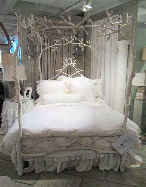 tree branch bed frame make your bed dreamy luxe linens cococozy