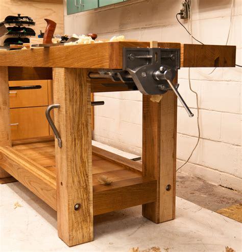 best woodworking workbench split top roubo workbench plans diy free