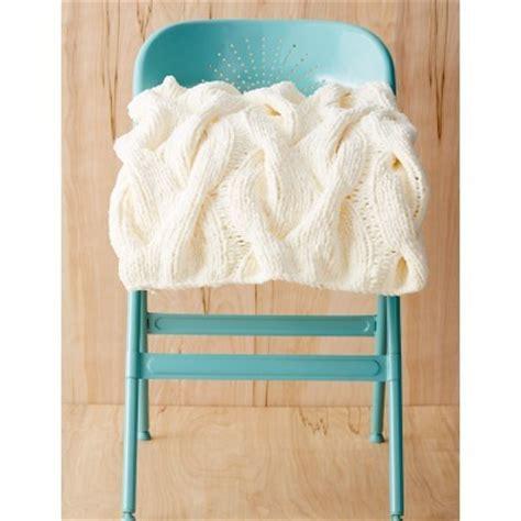 white knit throw blanket white as snow cable knit throw allfreeknitting