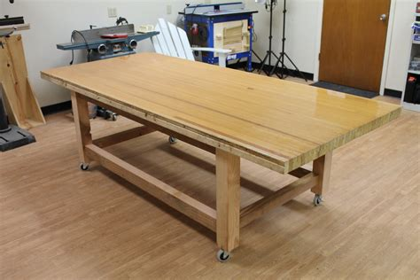 woodworking assembly table a large assembly table by carterr lumberjocks