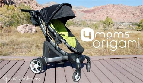 4moms origami stroller review 4moms origami simply real