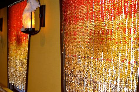 gold beaded curtains chagne gold bead curtain hanging sculpture