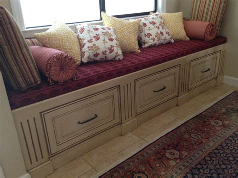dining room bench cushions bench cushions traditional dining room sacramento