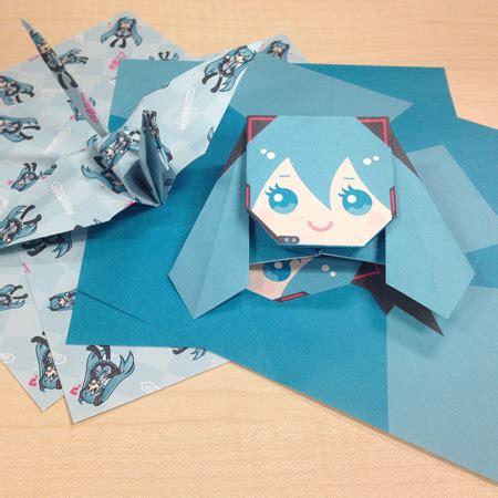 origami exhibit hatsune miku expo 2014 in indonesia exhibition