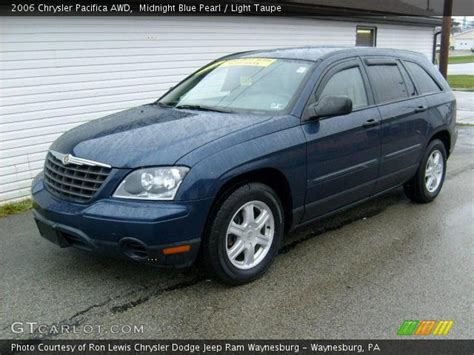 Blue Chrysler Pacifica by Midnight Blue Pearl 2006 Chrysler Pacifica Awd Light