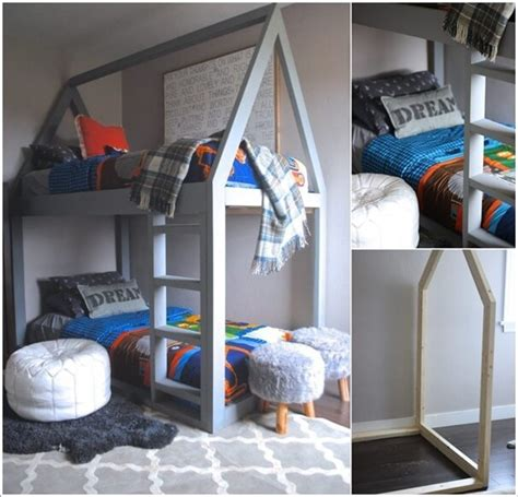 diy bunk beds 10 cool diy bunk bed designs for