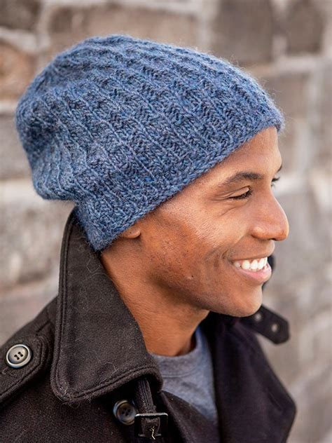 mens slouchy beanie knitting pattern free 15 incredibly handsome winter hats for to knit or crochet