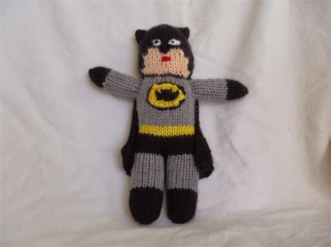 free knitted toys stana s critters etc knitting pattern for batman