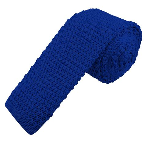 blue knit tie 2 5 quot s solid royal blue knit tie by manzini neckwear