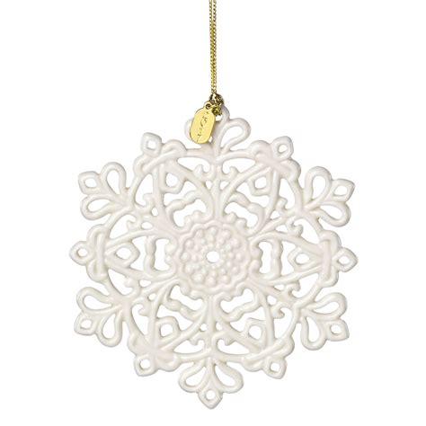 annual ornaments lenox annual 2017 snow fantasies snowflake ornament