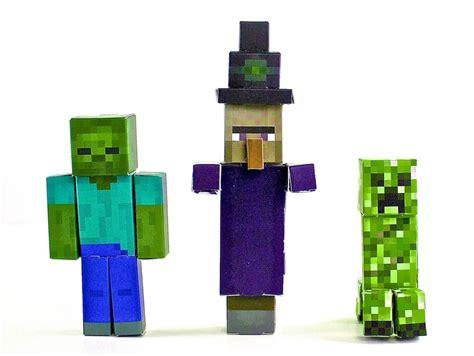 paper craft for minecraft paper crafts minecraft animals toys