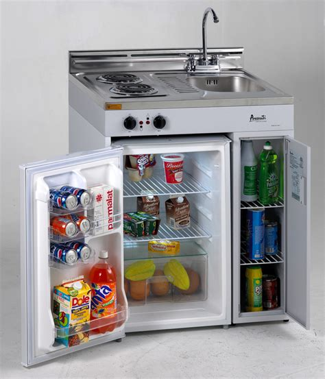 mini kitchen sinks compact kitchen with stove refrigerator and sink