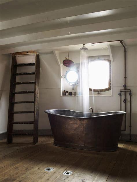 bathroom bathtub ideas 20 rustic bathroom designs with copper bathtub