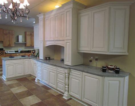 white kitchens cabinets charleston cherry saddle and antique white kitchen