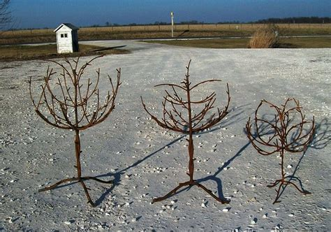 wrought iron trees wrought iron tree outdoor lodge decor