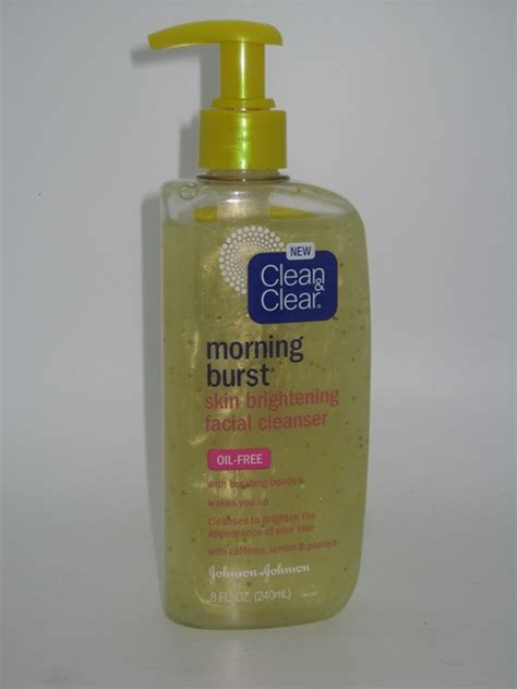 clean and clear bursting review clean clear morning burst skin brightening