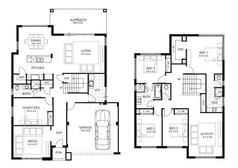 house plans 5 bedrooms 5 bedroom house designs perth storey apg homes