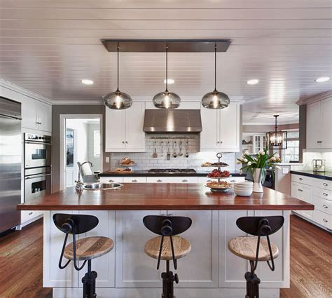 island lights for kitchen kitchen island pendant lighting in a cozy california ranch