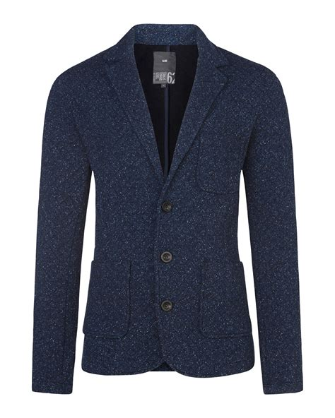 knitted blazers heren knitted blazer 78971219 we fashion