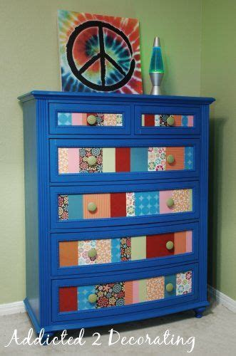 decoupage furniture with scrapbook paper the world s catalog of ideas