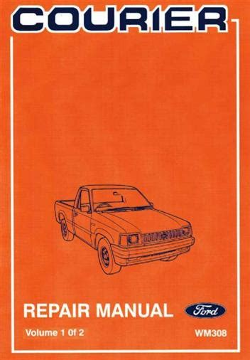 ford courier 1985 1986 factory repair manual ford australia