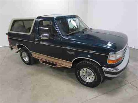 95 Ford Bronco by Find Used 95 Ford Bronco 5 8l V8 Auto 4x4 Colorado Owned