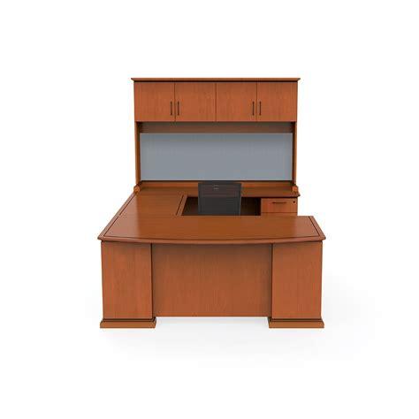 u shaped desk with hutch u shaped desk with hutch mayline at10l aberdeen u shaped