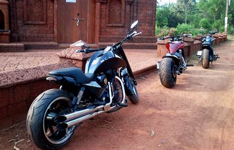 Modified Bikes Bangalore by Royal Enfield Bullet Modification Bulleteer Customs
