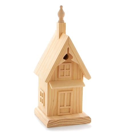 wooden craft kits for unfinished wood house wood craft kits