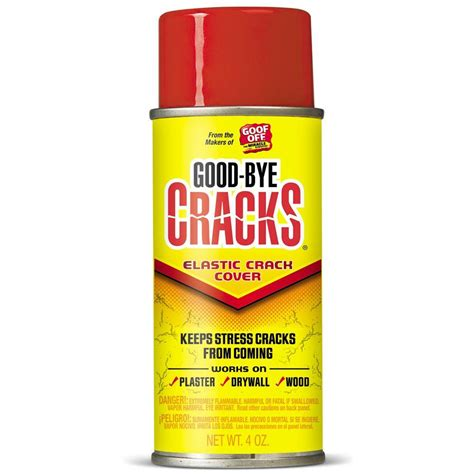spray paint cracking goof 4 oz goodbye cracks elastic cover spray