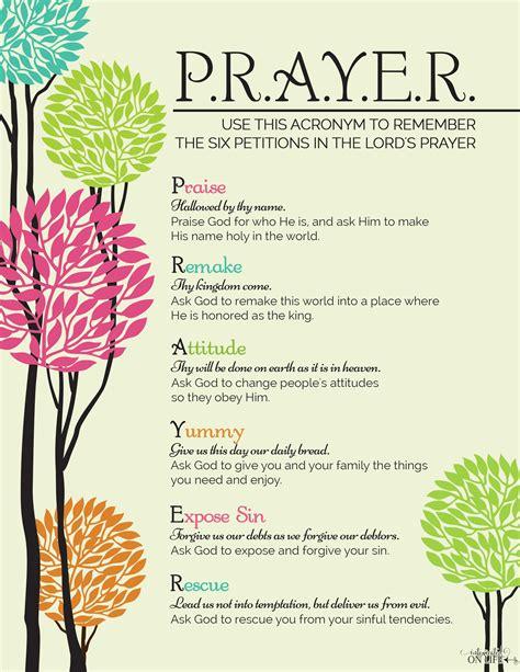 6 Essential Steps To Biblical Prayer Teaching To Pray