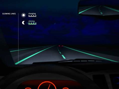 glow in the paint near me netherlands unveils smart highways that glow in the