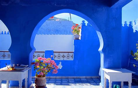 blue city morocco the blue city chefchaouen morocco 1080p hd