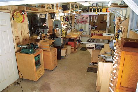 small woodworking shop garage workshop and basement layout fundamentals of