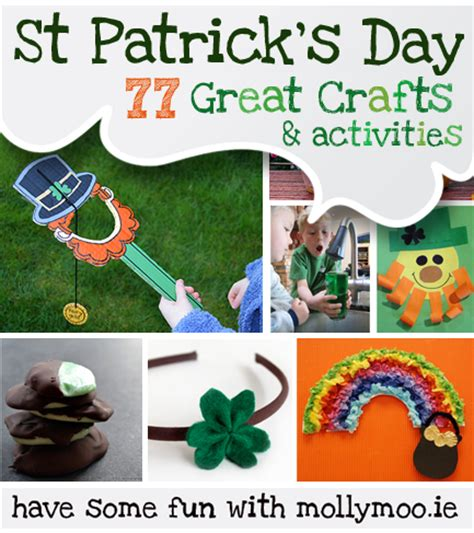 st patricks day craft mollymoocrafts 77 st s day crafts ideas to