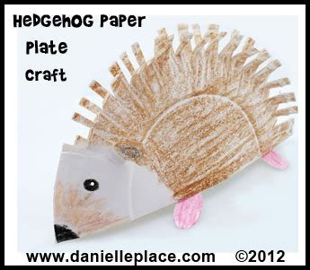 hedgehog paper plate craft hedgehog crafts and learning activities for children