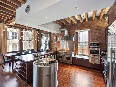 Modern Countertops cozy new york city loft enthralls with an eclectic