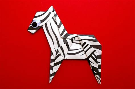 origami zebra 1000 images about origami on monkey