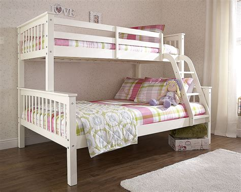 discount bunk bed novaro white wood bunk bed discount furnishings