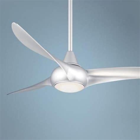 silver ceiling fan 52 quot minka aire light wave silver ceiling fan