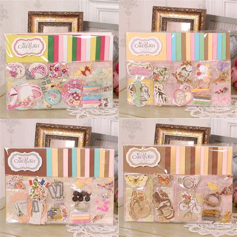 greeting card supplies 15 cards envelopes handmade paper card craft